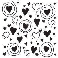 TCW - Templates 30 x 30, Whimsical Hearts
