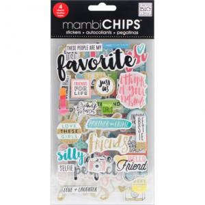 MMB - Chipboard Value Pack, Favorite