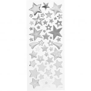 CC - Stickers, 10x24 cm, guld