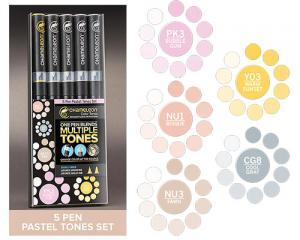 Chameleon Pen Marker - Pastel Tones Set 5-pack