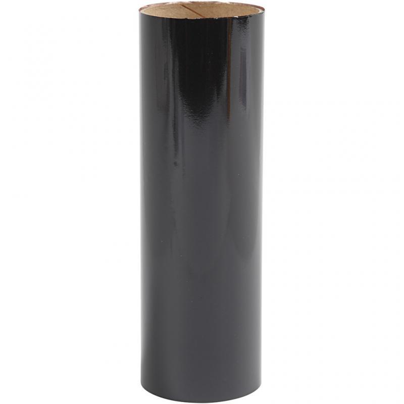 Dekorations folie, svart