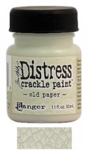 R - Distress Crackle Paint old paper