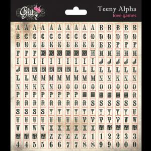 G - Teeny Alpha cream block