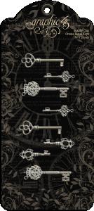 G45 - Chabby Chic Ornate Metal Keys