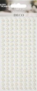 HM - Halv Pärlor vita