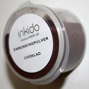 Embossingpulver choklad