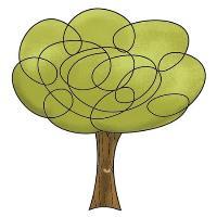I - Clearstamp Tree