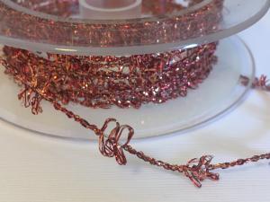 Band - Med ståltråd orange