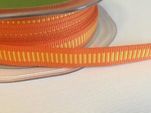 Band - orange med gula inslag
