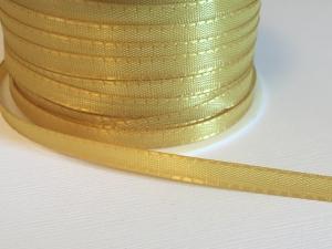 Band - polyester guldgul