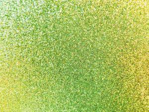 Glitter Dekorgummi - lime