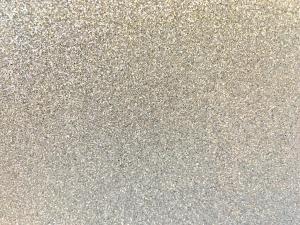 Glitter Dekorgummi - Silver