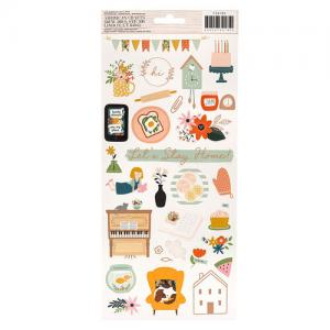 """JH - Cardstock stickers, 6 x 12"""""""
