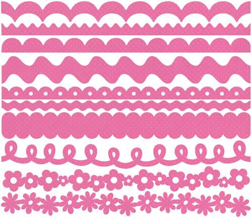 BG - Just Edge strips rosa