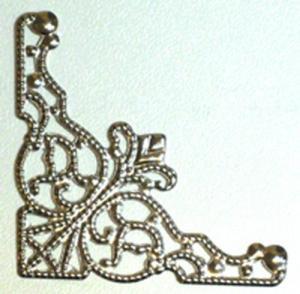 KG - Metallhörn silver