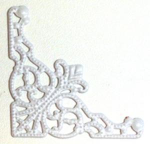 KG - Metallhörn vit