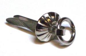KG - Öglebrads små silver