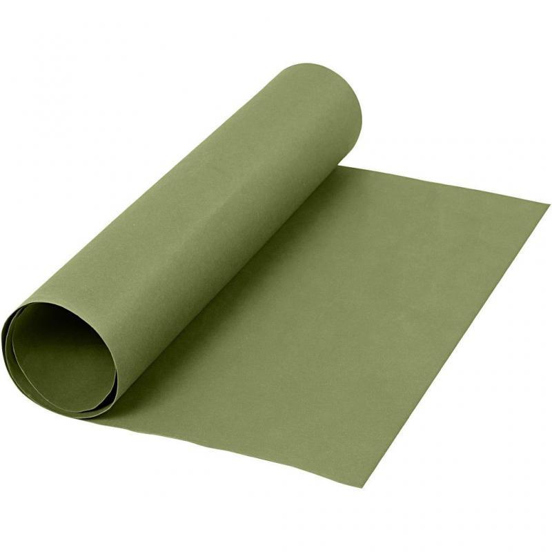 Läderpapper grön