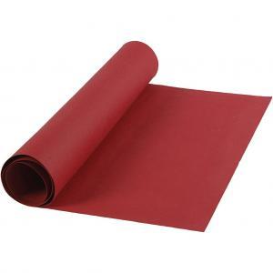 Läderpapper röd