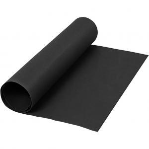 Läderpapper svart