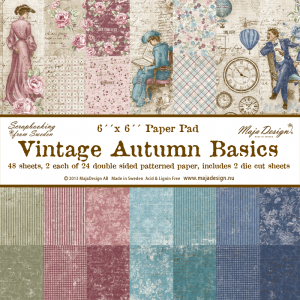MD - Vintage Autumn Basics - Paper Pad