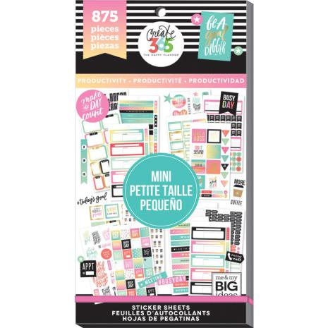 MMB - Create 365 Mini Stickers , Mini Productivity