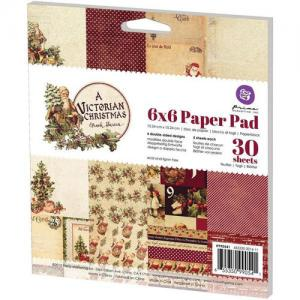 "P - Paper Pad 6"" x 6"" A Victorian Christmas"