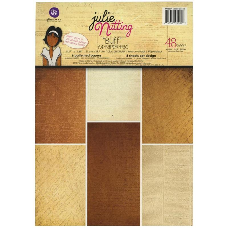 P - A4 Paper Pad, Julie Nutting Buff