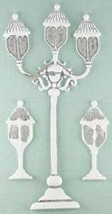 P - Chabby Chic Metal, Street Lamps