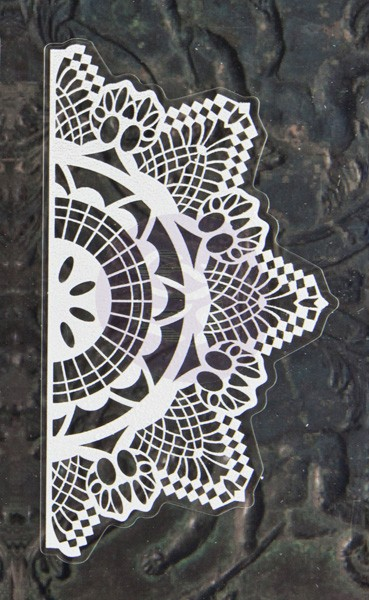 P - Lace Stickers Doily 3