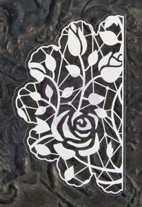 P - Lace Stickers Doily 6