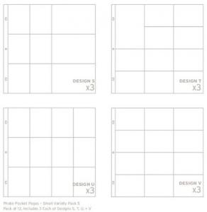 AC - PHOTO POCKET PAGES- SMALL VARIETY 5