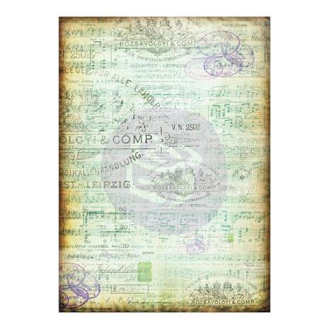 P - Tissue Paper, Musica