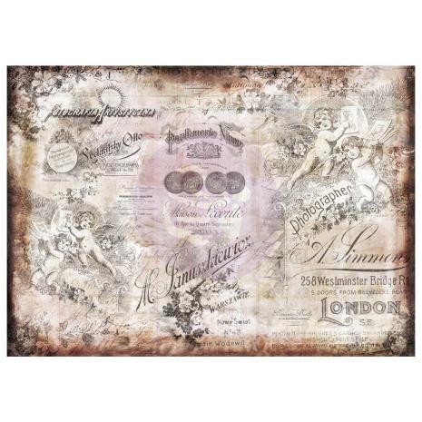 P - Tissue Paper, Romantica