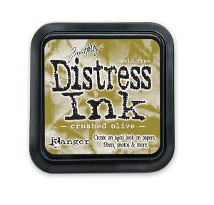 R - Distress Ink Pad - Crushed Olive
