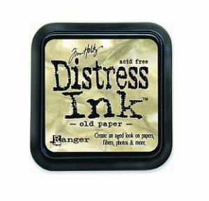 R - Distress Ink Pad - Old Paper