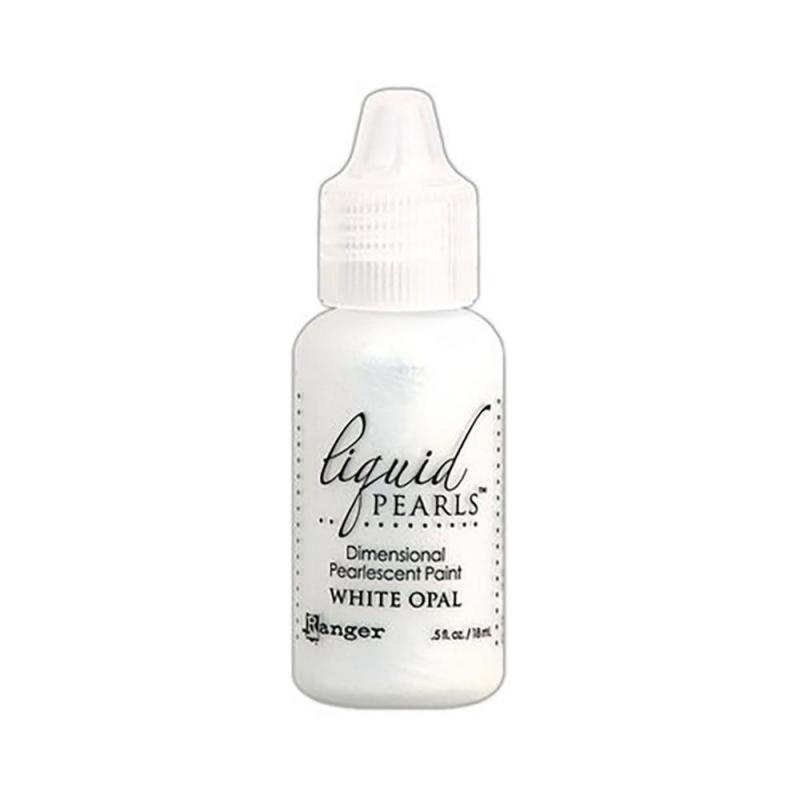 R - Liquid Pearls  white opal