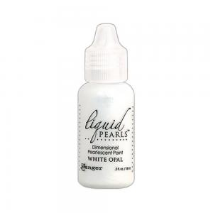 R - Liquid Pearls  white opal