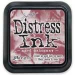 R - Distress Ink Pad Aged Mahogany