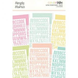 SS -Color Vibe Alpha stickers book, lights