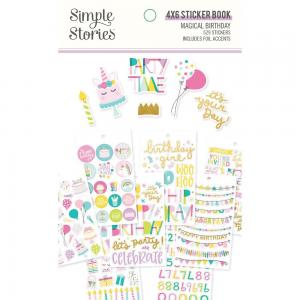 SS - Stickers book, Magical Birthday