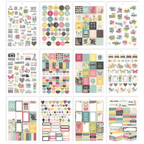 SS - Carpe Diem A5 Planner Stickers Tablet-Hallo