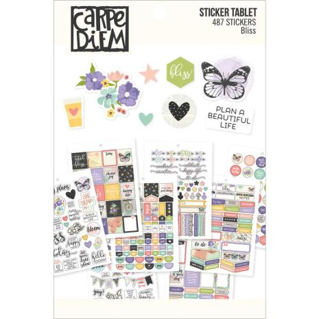 SS - Carpe Diem A5 Stickers Tablet Bliss