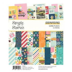 SS - Double-Sided Paper Pad 6X8 - Going Places