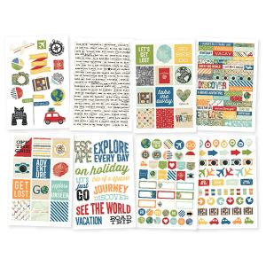 SS - Stickers, Travel Notes