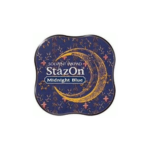 T - StaZon Midi Midnight blue