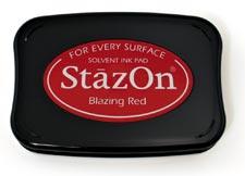 T - StazOn stämpeldyna blazing red