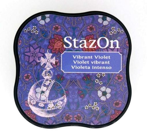 T - StazOn midi Vibrant Violet