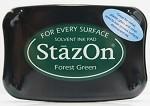 T - StazOn stämpeldyna Forest Green