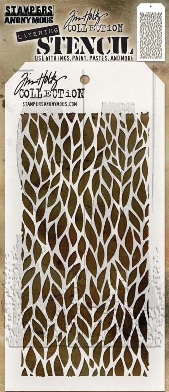 TH - Stencil Leafy